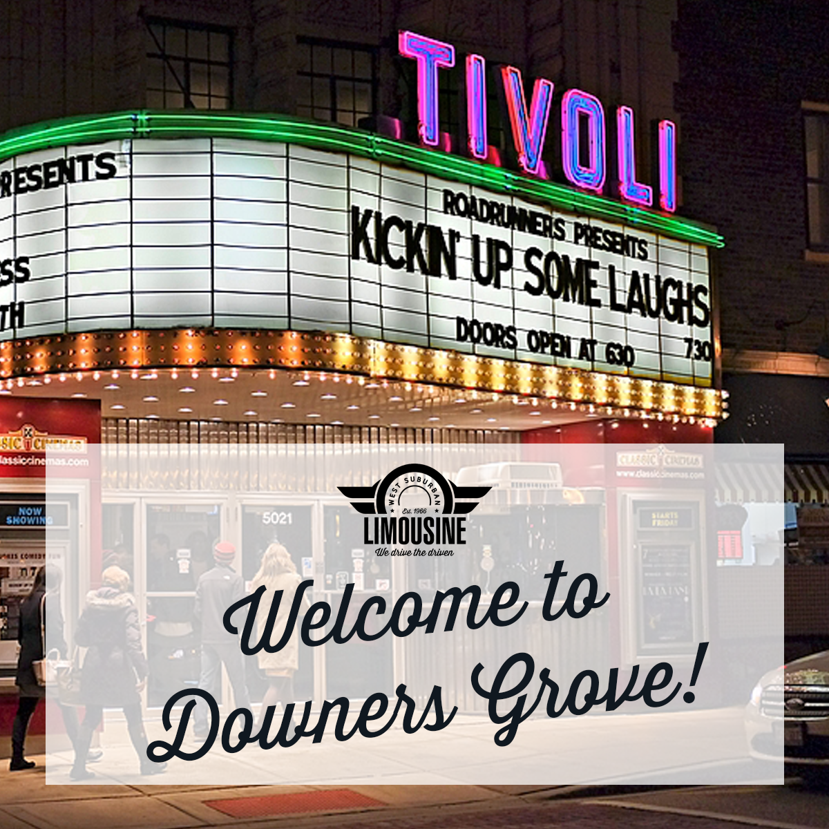 Tivoli Theater Downers Grove It's A Wonderful Life Best Places To Go Downers Grove Limo Service With West Sub Limo