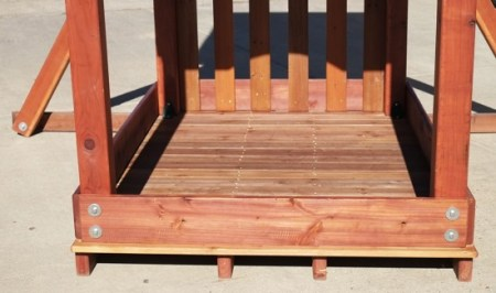Easy Wooden Swing set Assembly