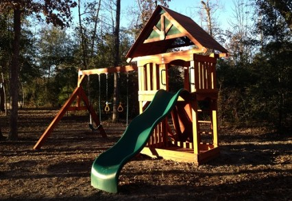 Houston Wooden Swingset