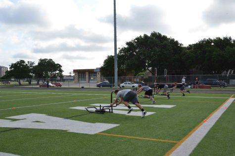 Warriors Continue Summer Training