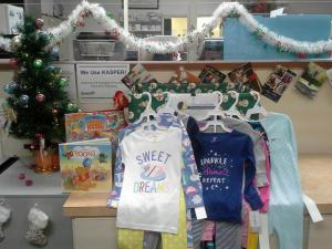 PajamaFEST Donations from Louisville Pharmacy