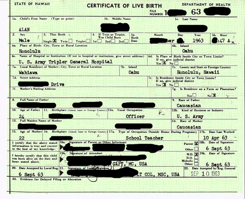 sample of a birth certificate - Gottayotti