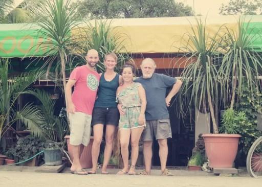Cecilia und Julio haben uns die Tage im Puerto Jimenez, IL Giardino Italiano versüßt