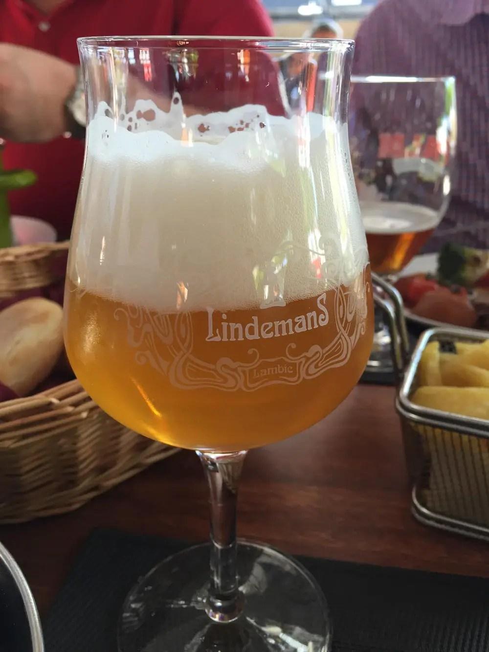 belgisches bier lindemans lambic apple