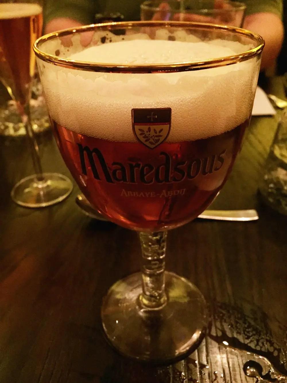 belgisches bier maredsous