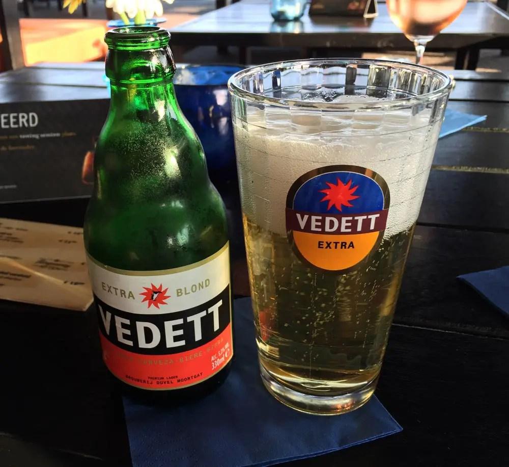 belgisches bier vedette extra blond