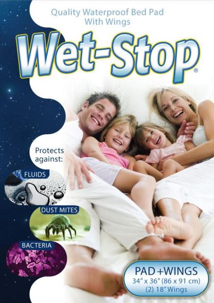wet-stop mattress pad