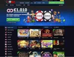 Live Casino, normales Casino und viele Arcade Games sind bei 10Bet verfügbar