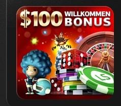 Für das Online Casino gibt es einen 100$ Bonus von LSbet