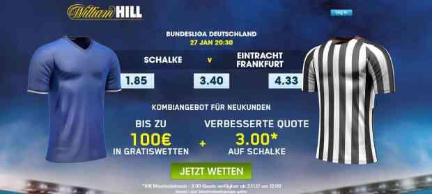 Schalke Frankfurt Promo 27.01.2017