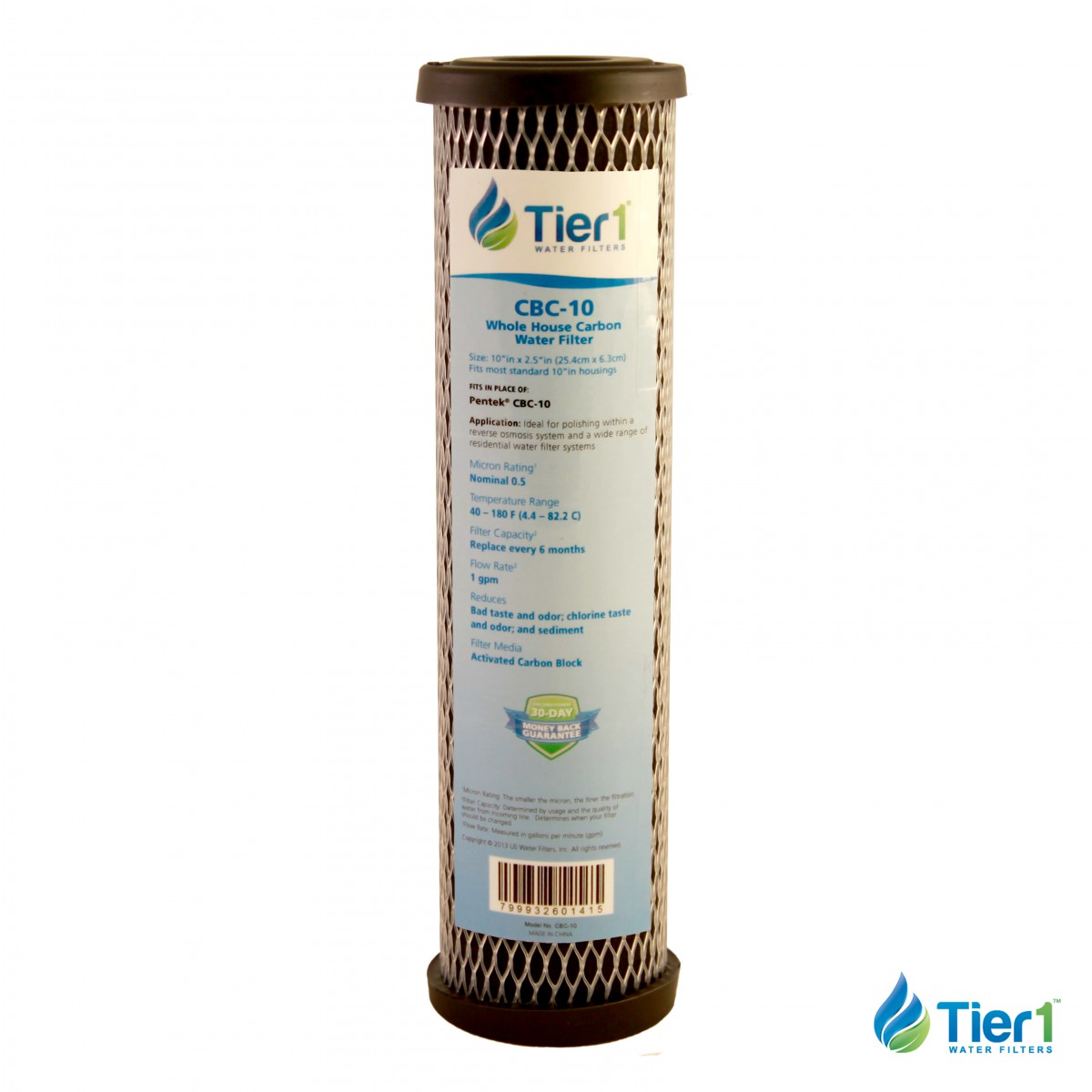 Carbon Water Filter System 10 X 2 5 Carbon Block Replacement Filter By Tier1 5 Micron
