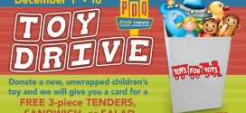 PDQ Partners with the Marine to Collect Toys for Kids in Need