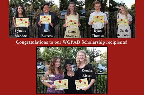 2015 WGPAB Scholarship Winners
