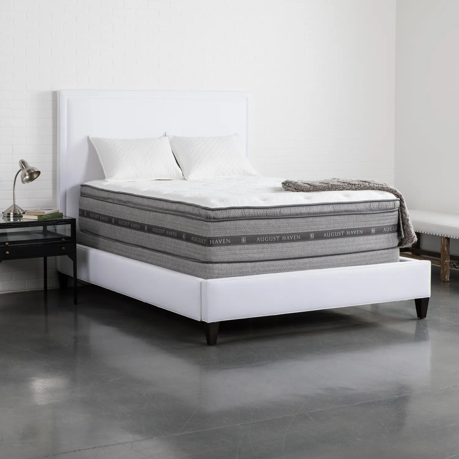 Pillow Top King Mattress August Haven Haven Pillow Top King Mattress