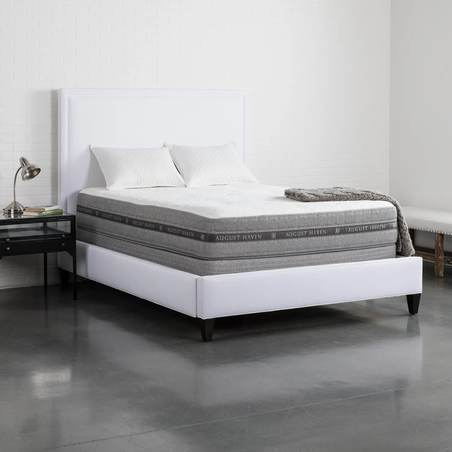 Bedroom Mattress August Haven Opulence Latex Twin Mattress