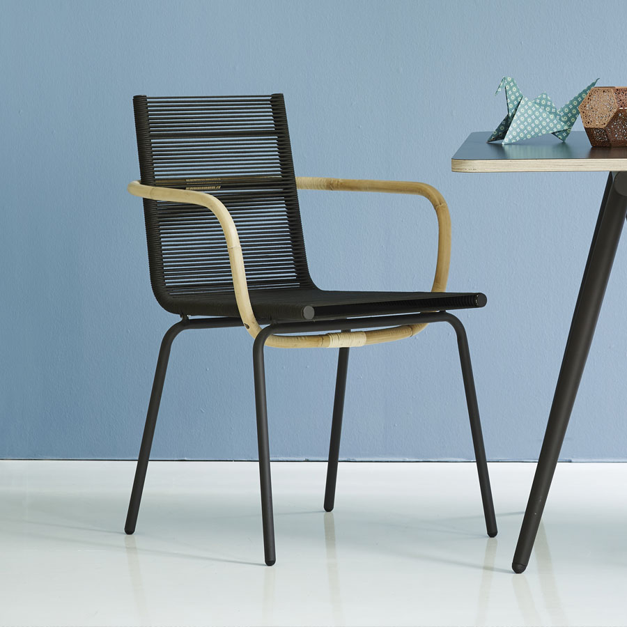 Sidd Dining Chair Cane Line Collection Wgu Design