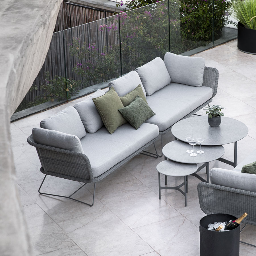 Horizon Modular Sofa Outdoor Furniture Wgu Design Cane Line
