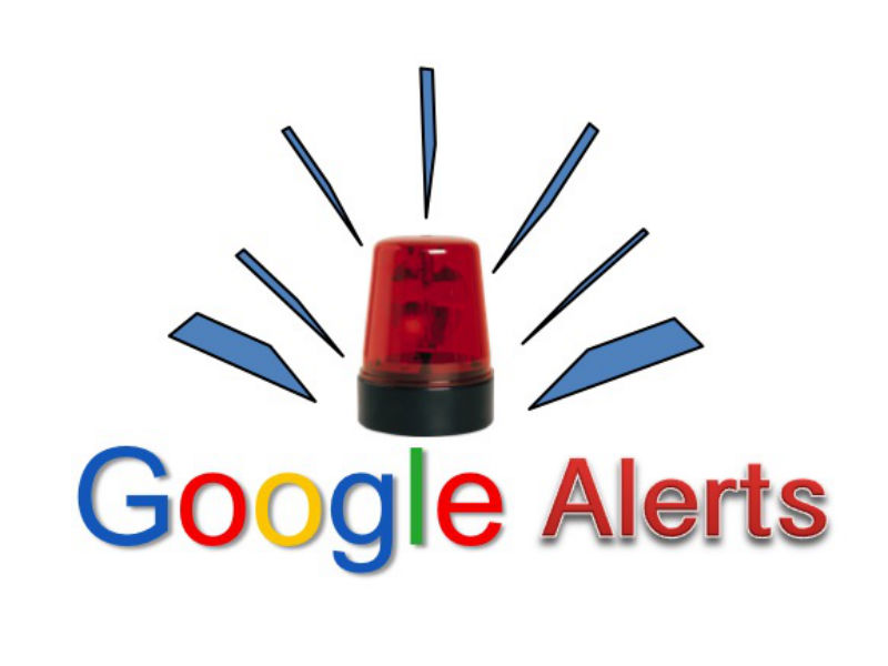 how to add google alerts