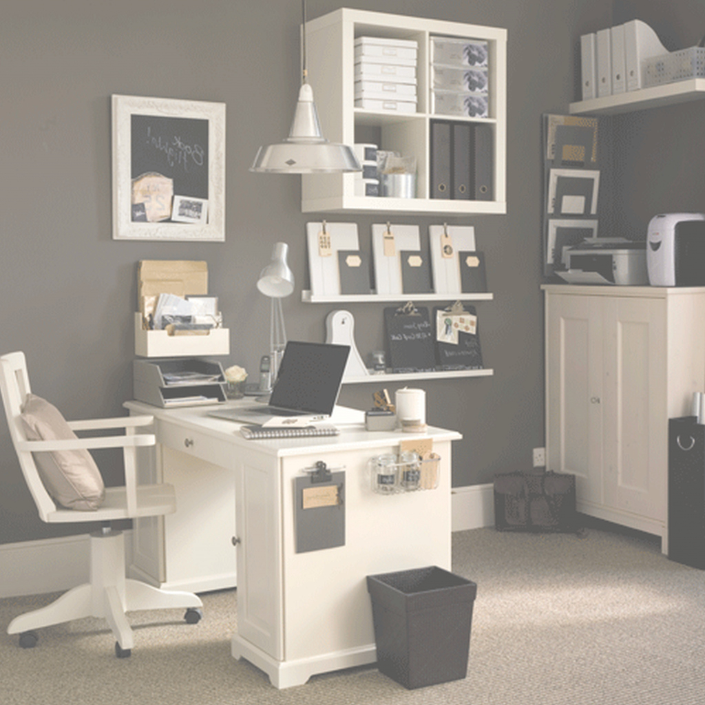Amazing Awesome Home Office Setup Furnishing White Themes Ideas Decor Within Office Decor Themes Ideas House Generation