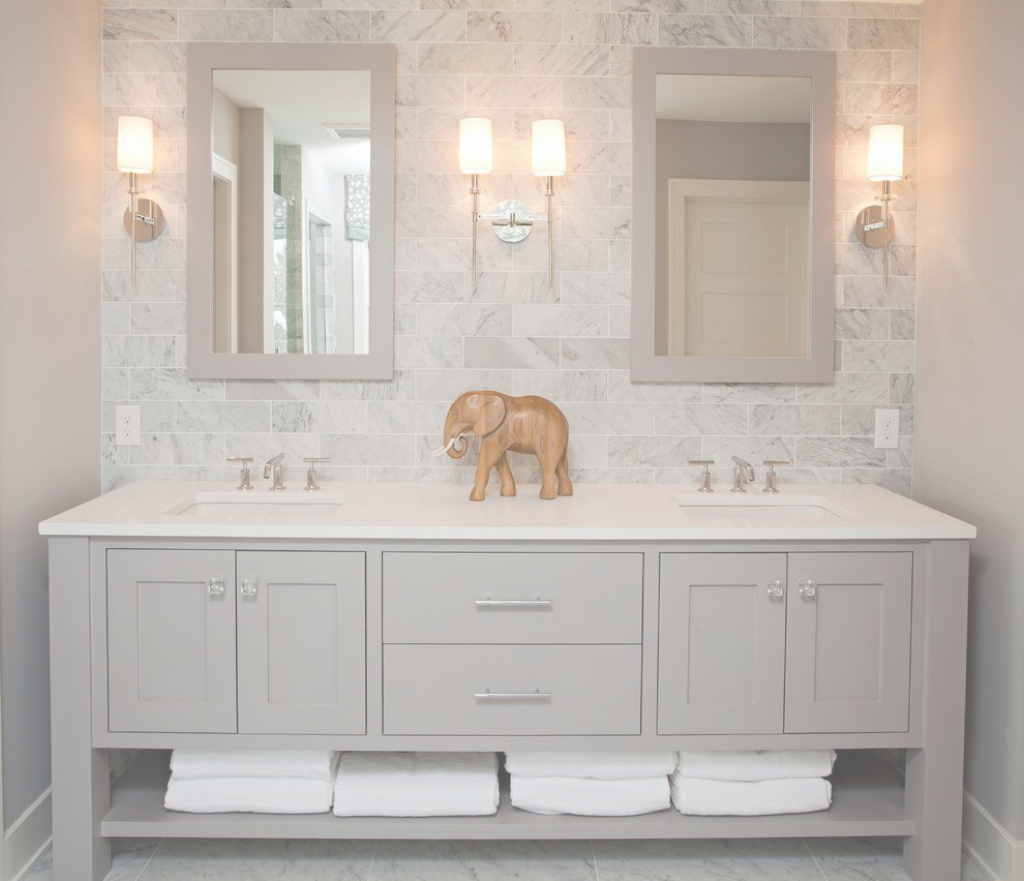 Glamorous Luxury Bathroom Vanities Bathroom Beach Style With Gray Backsplash In Unique Luxury Bathroom Vanity Ideas House Generation