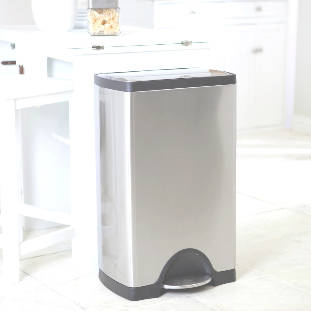 Modern Bathroom Trash Cans Modern Splendid Kitchen Trash Size Ideas Door Trash Cans