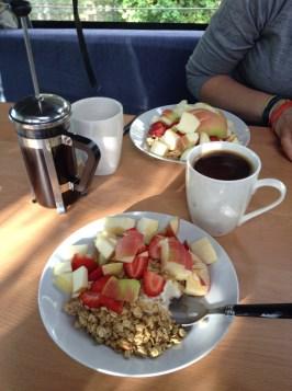 Campervan Breakfast