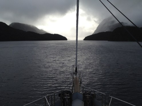 Doubtful Sound Aboard Ship