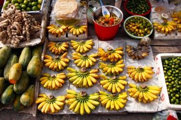 Fresh fruit market Can Tho