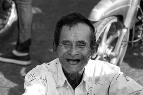 Happy Man in Phnom Penh