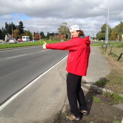 Justin Butler Hitchhiking New Zealand