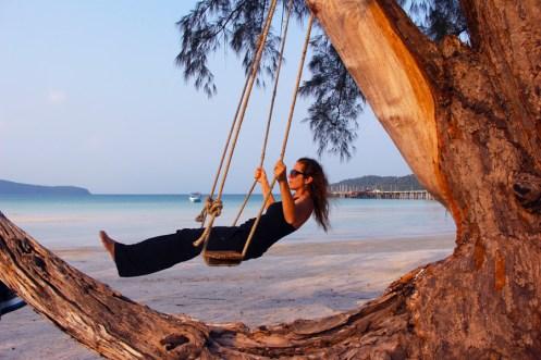 Kristin Butler Beach Swing