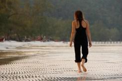 Kristin Butler on the Beach