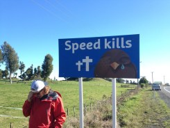 New Zealand Funny Road Signs