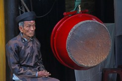 Old Man and Drum