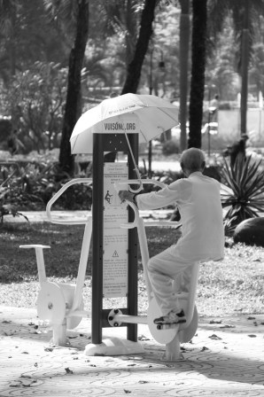 Outdoor Workouts in Vietnam