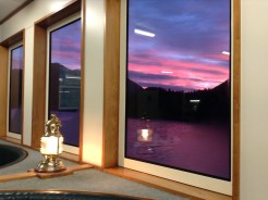 Sunset Doubtful Sound From Dining Room