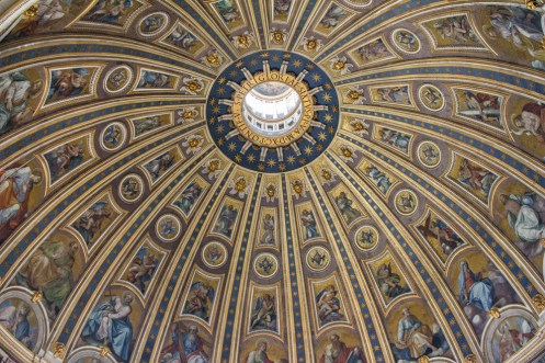 Ceiling of St. Peter's Basilica Dome