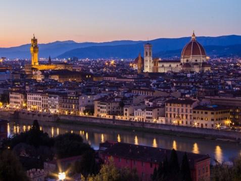 Duomo of Florence at Night