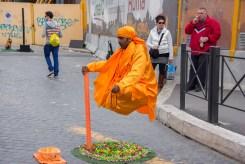Street Performers Floating