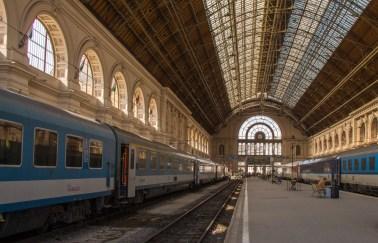 Keleti Train Station Platform