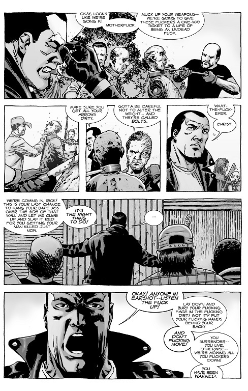 A Look at The Walking Dead #140 \u201cLife and Death\u201d What Else is on Now?