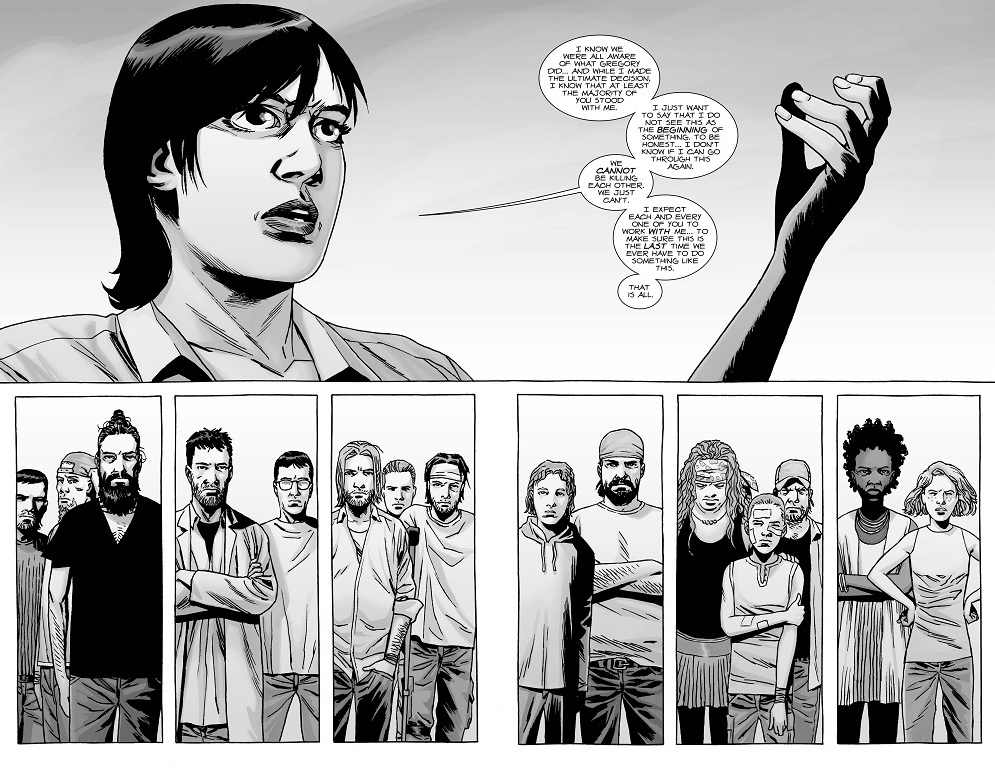 A Look at The Walking Dead #142 \u201cA Gathering\u201d What Else is on Now?