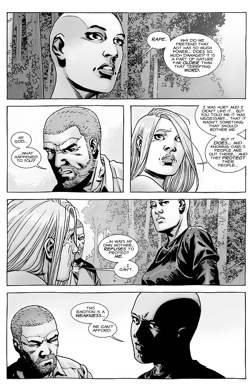 A Look at The Walking Dead #144 \u201c\u2026\u201d What Else is on Now?