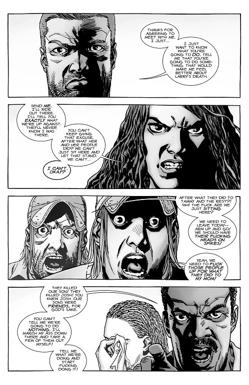 A Look at The Walking Dead #146 \u201cA Breaking Point Reached\u201d What