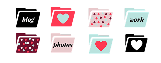 Free February Wallpapers & Folder Icons (+ A Video Tutorial!)