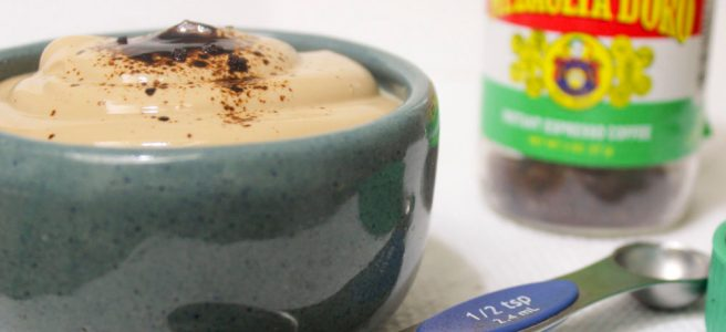Coffee Yogurt Cup