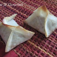 Desperate for Dessert: Baklava Wonton Bites