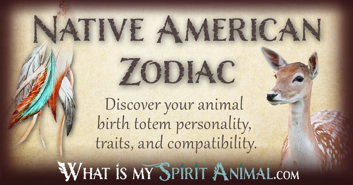 Native American Zodiac  Astrology Birth Signs  Totems