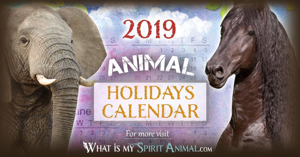 Animal Holidays  Celebration Dates