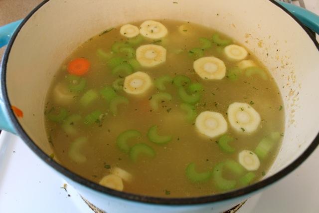 matzah ball, chicken. soup